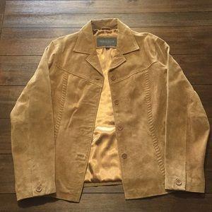 100% Genuine Leather Cow Hide Van Heusen Jacket 🧥